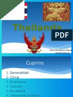 Thailanda- prezentare powerpoint