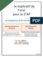 Guide Explicatif de L_oral Pour La 3_AP