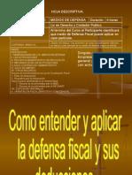 Curso de Defensa Fiscal
