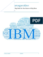 IBM, A Prospective on Cloud and Big Data - Cyrille Vignon
