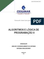 Algoritmo e Lógica de Programação II
