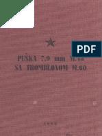 Pravilo Puska 7.9mm m48 Sa Tromblonom m60