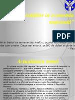 rolul investitiilor in economia nationala