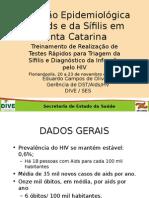 Dados Epidemiologicos SC 2012 Final