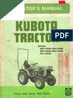 B5100 B6100 B7100 Owners Manual