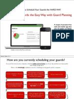 Josh Guard Planning InfoPack
