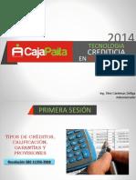 Primera Sesion - Tipos de Creditos - Clasificacion - Garantias - Provisiones