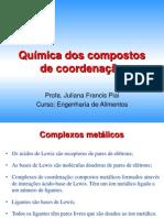 A Química Dos Compostos de Coordenação - Titulação Por Complexação (1)