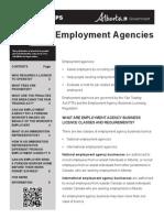 Emp Agencies Tipsheet