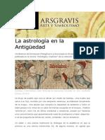 La Astrología en La Antigüedad