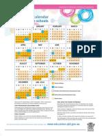 2015 School Calendar