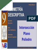 Cap 09 Interseccion Plano Poliedro