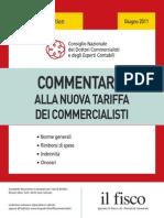 Commentario Nuova Tariffa Commercialisti