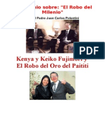 Testimonio Del Gran Robo de Oro Del Paititi Por Los Fujimoris