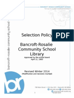 library selection policy nolting