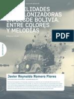 Posibilidades descolonizadoras en/desde Bolivia