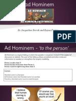 rad hominem