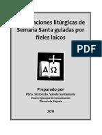 Celebraciones Litúrgicas de Semana Santa Guiadas Por Fieles Laicos
