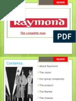 RAYMOND ppt
