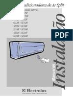 Manual de Instalação Electrolux Condicionador Split