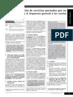 Servicio No Domiciliado en le Peru