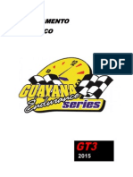 Reglamento GES 2015 Cat. GT3