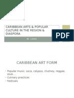 caribbean arts & popular culture in the region