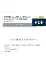 caribbean arts & popular culture in the region