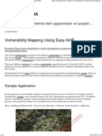 Vulnerability Mapping Using Easy AHP _ CBS UYGULAMA