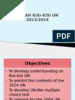 Penjabaran Kisi-Kisi Dan Materi.pengayaan UN