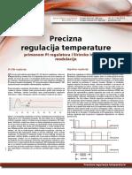 Precizna regulacija temperature - PLC