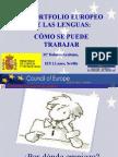 El Portfolio Europeo de Las Lenguas