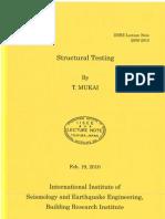 IISEE Mukai Structural Testing 2010