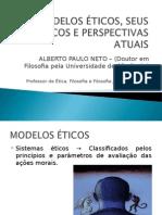 Modelos Eticos Seus Criticos e Perspectivas Atuais