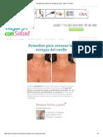 Remedios para atenuar las arrugas del cuello - Mejor Con Salud.pdf
