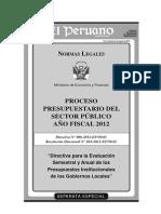 Directiva 006-2012-EF Evaluacion Semestral y Anual PI de GL