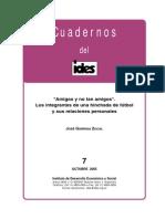 José Garriga. Amigos y No Tan Amigos 2005