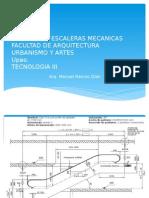 CALCULO DE ESCALERAS MECANICAS