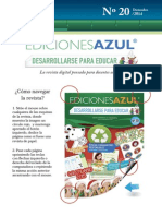 Revista Ediciones Azul n20 2014