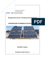 Introducao a Energia Fotovoltaica