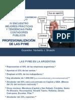 Presentacion Norberto Bruschi