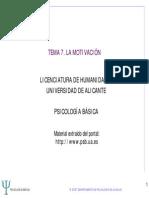 Tema 7_psicología Básica_la Motivación