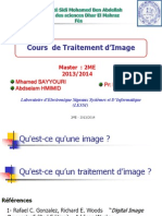 Cours Image Master