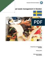 Sweden MSW