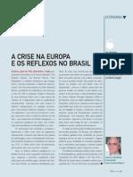 Crise Europa Reflexos Brasil