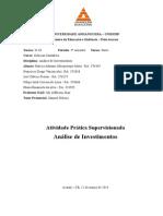 Atps de Análise de Investimentos Completa