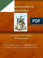 Caracterización de Personajes