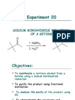 Reduction of cyclohexanone