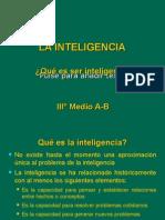 Inteligencia (Procesos Cognitivos)