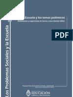 MECyT - La Escuela y Los Temas Polémicos
